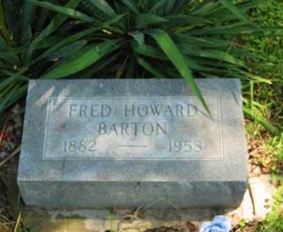 BARTON, FRED HOWARD - Morrow County, Ohio | FRED HOWARD BARTON - Ohio Gravestone Photos