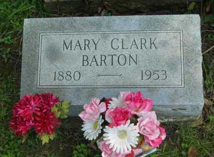 BARTON, MARY - Morrow County, Ohio | MARY BARTON - Ohio Gravestone Photos