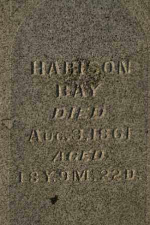 BAY, HARISON - Morrow County, Ohio | HARISON BAY - Ohio Gravestone Photos