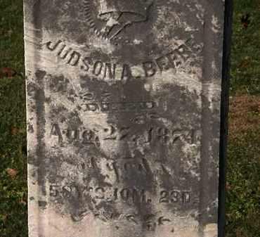 BEEBE, JUDSON A. - Morrow County, Ohio   JUDSON A. BEEBE - Ohio Gravestone Photos
