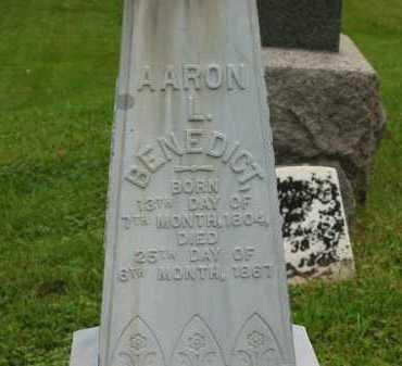 BENEDICT, AARON L. - Morrow County, Ohio | AARON L. BENEDICT - Ohio Gravestone Photos