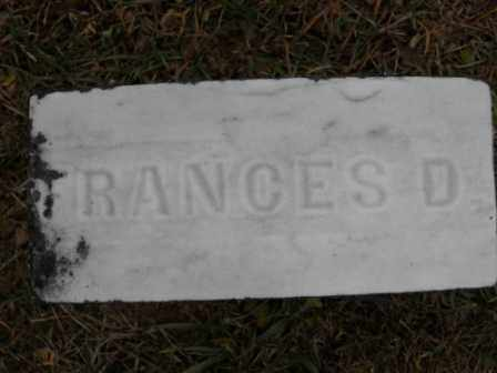 BLAIR, FRANCES D - Morrow County, Ohio | FRANCES D BLAIR - Ohio Gravestone Photos