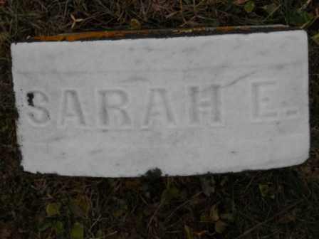 BLAIR, SARAH E - Morrow County, Ohio | SARAH E BLAIR - Ohio Gravestone Photos