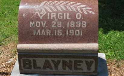 BLAYNEY, VIRGIL O. - Morrow County, Ohio | VIRGIL O. BLAYNEY - Ohio Gravestone Photos