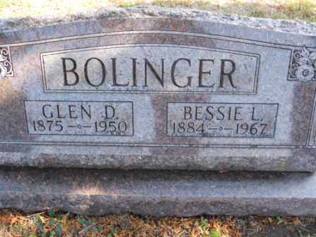 BOLINGER, BESSIE L - Morrow County, Ohio | BESSIE L BOLINGER - Ohio Gravestone Photos