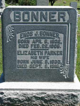 BONNER, ENOS J. - Morrow County, Ohio | ENOS J. BONNER - Ohio Gravestone Photos