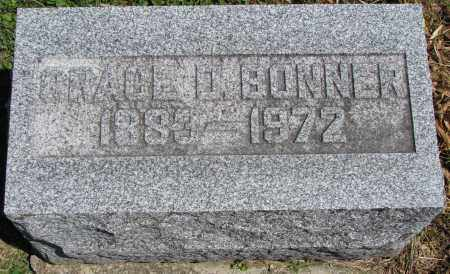 BONNER, GRACE - Morrow County, Ohio | GRACE BONNER - Ohio Gravestone Photos