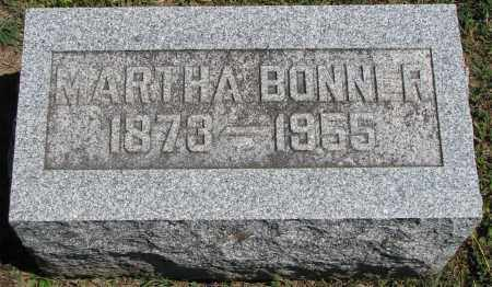 CHAPMAN BONNER, MARTHA - Morrow County, Ohio | MARTHA CHAPMAN BONNER - Ohio Gravestone Photos