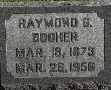 BOOHER, RAYMOND G. - Morrow County, Ohio | RAYMOND G. BOOHER - Ohio Gravestone Photos