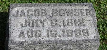 BOWSER, JACOB - Morrow County, Ohio | JACOB BOWSER - Ohio Gravestone Photos