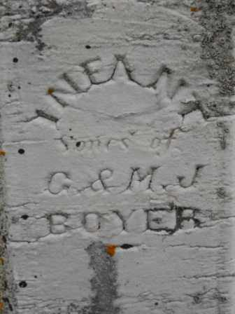 BOYER, INFANT SONS - Morrow County, Ohio | INFANT SONS BOYER - Ohio Gravestone Photos