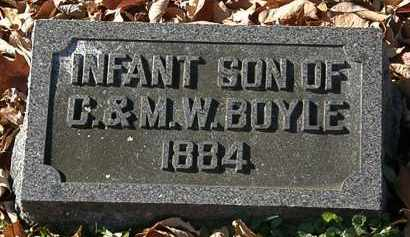 BOYLE, M.W. - Morrow County, Ohio | M.W. BOYLE - Ohio Gravestone Photos