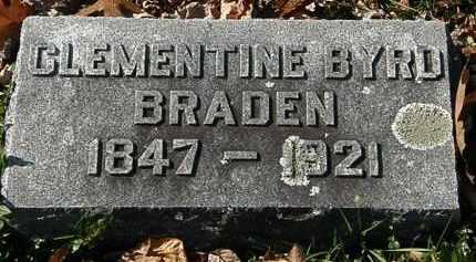 BRADEN, CLEMENTIE - Morrow County, Ohio | CLEMENTIE BRADEN - Ohio Gravestone Photos