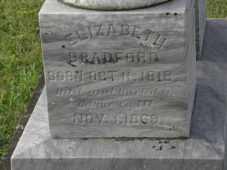 BRADFORD, ELIZABETH - Morrow County, Ohio | ELIZABETH BRADFORD - Ohio Gravestone Photos