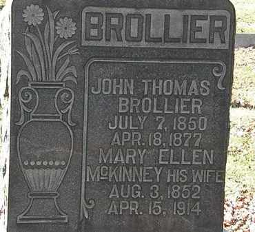 BROLLIER, MARY ELLEN - Morrow County, Ohio | MARY ELLEN BROLLIER - Ohio Gravestone Photos