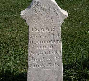 BROWN, ISAAC - Morrow County, Ohio | ISAAC BROWN - Ohio Gravestone Photos