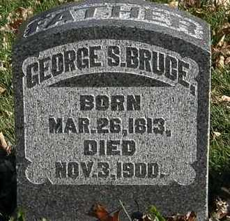 BRUCE, GEORGE S. - Morrow County, Ohio | GEORGE S. BRUCE - Ohio Gravestone Photos