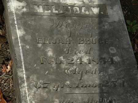 BRUCE, MELINDA W. - Morrow County, Ohio | MELINDA W. BRUCE - Ohio Gravestone Photos