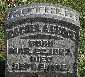 BRUCE, RACHEL A. - Morrow County, Ohio | RACHEL A. BRUCE - Ohio Gravestone Photos