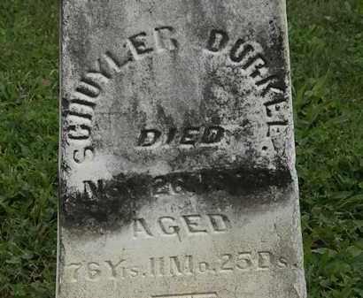 BURKEE, SCHUYLER - Morrow County, Ohio   SCHUYLER BURKEE - Ohio Gravestone Photos