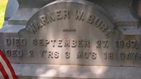 BURT, WARNER W. - Morrow County, Ohio | WARNER W. BURT - Ohio Gravestone Photos