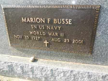 BUSSE, MARION F - Morrow County, Ohio | MARION F BUSSE - Ohio Gravestone Photos