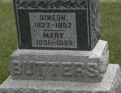 BUTTERS, MARY - Morrow County, Ohio | MARY BUTTERS - Ohio Gravestone Photos