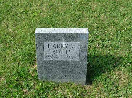 BUTTS, HARRY J. - Morrow County, Ohio   HARRY J. BUTTS - Ohio Gravestone Photos