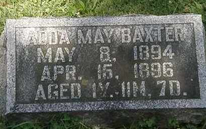 BXTER, ADDA MAY - Morrow County, Ohio | ADDA MAY BXTER - Ohio Gravestone Photos