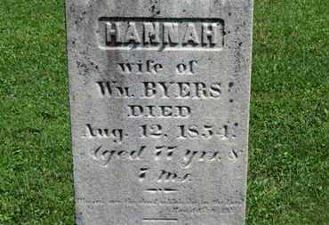 BYERS, WM. - Morrow County, Ohio | WM. BYERS - Ohio Gravestone Photos