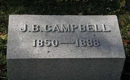 CAMPBELL, J. B. - Morrow County, Ohio | J. B. CAMPBELL - Ohio Gravestone Photos
