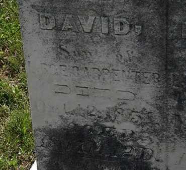 CARPENTER, DAVID - Morrow County, Ohio | DAVID CARPENTER - Ohio Gravestone Photos