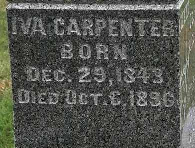 CARPENTER, IVA - Morrow County, Ohio | IVA CARPENTER - Ohio Gravestone Photos
