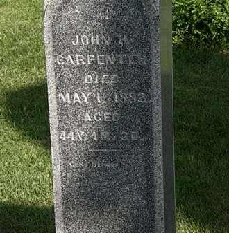 CARPENTER, JOHN H. - Morrow County, Ohio | JOHN H. CARPENTER - Ohio Gravestone Photos