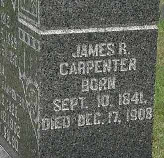 CARPENTER, JAMES R. - Morrow County, Ohio | JAMES R. CARPENTER - Ohio Gravestone Photos