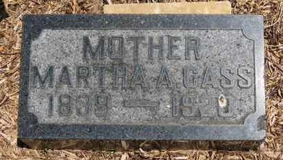 CASS, MARTHA A. - Morrow County, Ohio | MARTHA A. CASS - Ohio Gravestone Photos