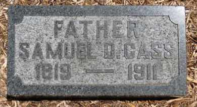 CASS, SAMUEL D. - Morrow County, Ohio | SAMUEL D. CASS - Ohio Gravestone Photos