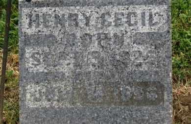 CECIL, HENRY - Morrow County, Ohio | HENRY CECIL - Ohio Gravestone Photos