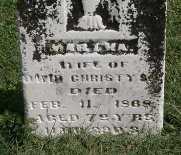 CHRISTY, DAVID - Morrow County, Ohio | DAVID CHRISTY - Ohio Gravestone Photos