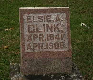 CLINK, ELSIE A. - Morrow County, Ohio | ELSIE A. CLINK - Ohio Gravestone Photos