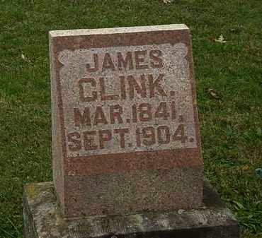 CLINK, JAMES - Morrow County, Ohio | JAMES CLINK - Ohio Gravestone Photos
