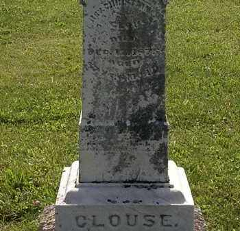 CLOUSE, REV. CHRISTIAN - Morrow County, Ohio | REV. CHRISTIAN CLOUSE - Ohio Gravestone Photos