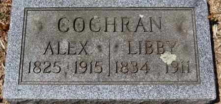 COCHRAN, ALEX - Morrow County, Ohio | ALEX COCHRAN - Ohio Gravestone Photos