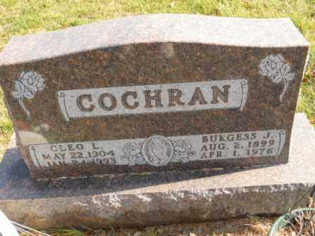 COCHRAN, CLEO L - Morrow County, Ohio | CLEO L COCHRAN - Ohio Gravestone Photos