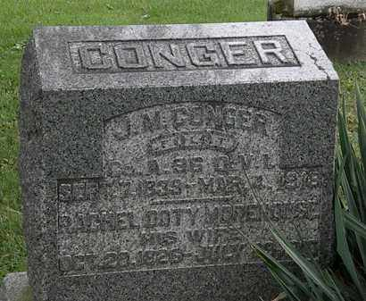 CONGER, J.M. - Morrow County, Ohio | J.M. CONGER - Ohio Gravestone Photos