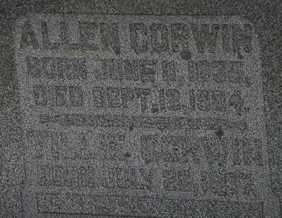CORWIN, ALLEN - Morrow County, Ohio | ALLEN CORWIN - Ohio Gravestone Photos