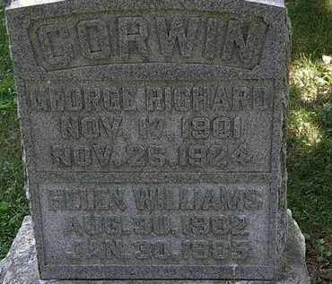 CORWIN, GEORGE RICHARD - Morrow County, Ohio | GEORGE RICHARD CORWIN - Ohio Gravestone Photos