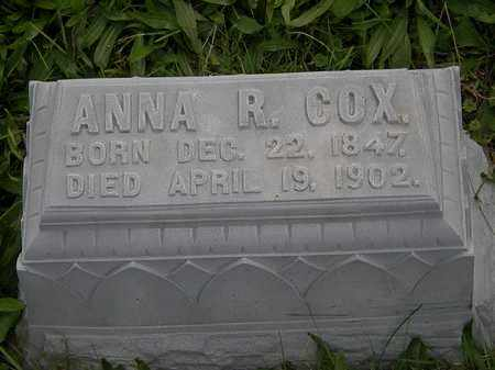 COX, ANNA R. - Morrow County, Ohio | ANNA R. COX - Ohio Gravestone Photos