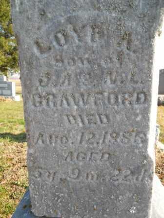 CRAWFORD, LOYD A - Morrow County, Ohio | LOYD A CRAWFORD - Ohio Gravestone Photos