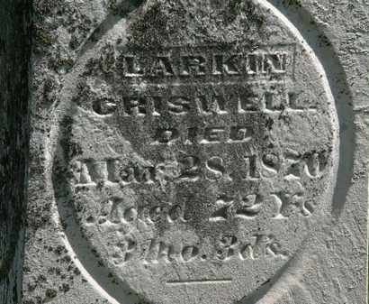 CRISWELL, LARKIN - Morrow County, Ohio | LARKIN CRISWELL - Ohio Gravestone Photos
